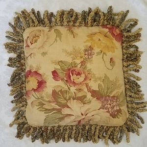 Gorgeous VTG Tapestry Throw Pillow